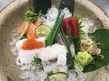 毎日仕入れる新鮮な魚介類