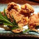 鶏の唐揚げ シークワーサー胡椒風味