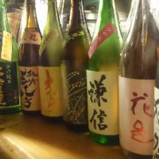 厳選の日本酒30種以上!
