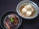 大人気のやさしい煮物「地たこの小豆煮」と「小芋の柚子煮」
