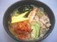 麺も凝ってます。「盛岡ピリ辛冷麺」780円 歯ごたえ満点!