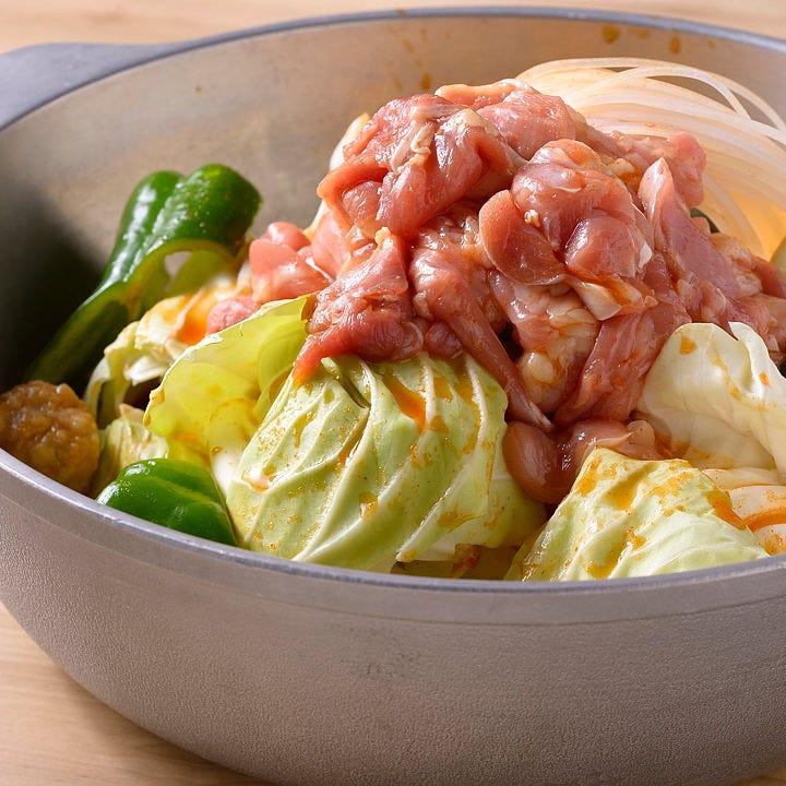 ピリ辛味噌がアクセント♪野菜も肉もたっぷりでとってもヘルシー