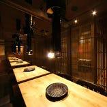 2階 テーブル半個室 最大24名様