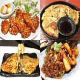 チゲやチヂミなど食べ放題コースは全57種類で3100円♪
