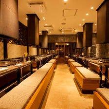 新宿でゆったり焼肉を味わう宴会個室
