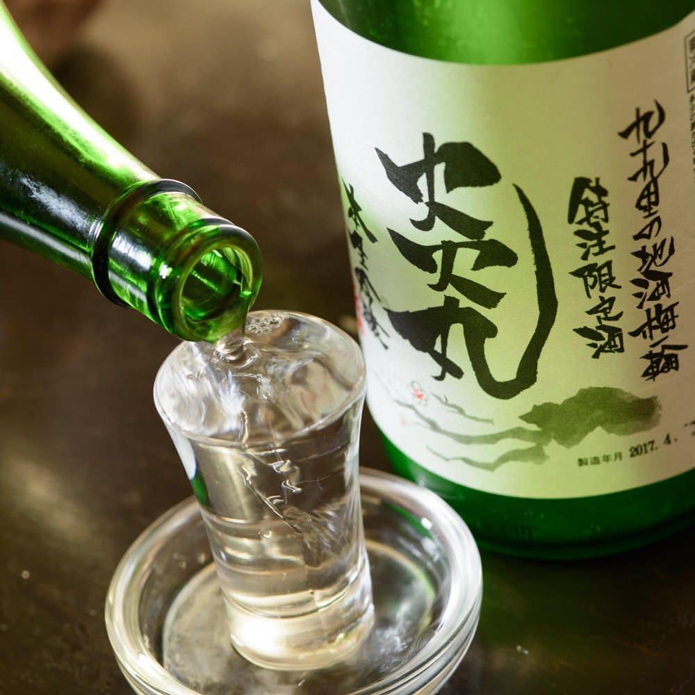 【各地の日本酒】炎丸ラベル日本酒も