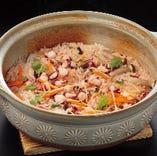 『地蛸の土鍋ご飯』 たこたっぷり!〆には最高。只今、人気好調