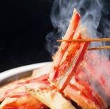 『網焼きタラバ』 ふっくらジューシー!!テーブルで焼き上げます