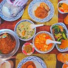 タイ料理人が提供する本場タイ料理!