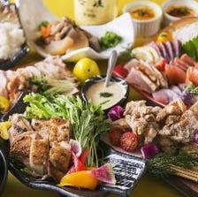 選べるメインの地鶏宴会を楽しむ!