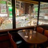 【3階】「テラス席」テーブル席(~25名様)