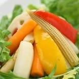 根菜の彩りマリネサラダ