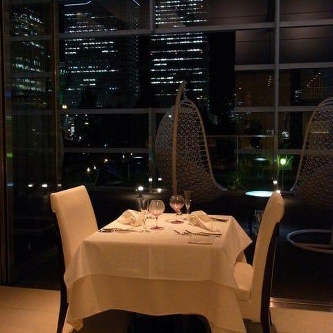 贅沢な空間と美味しい料理を・・