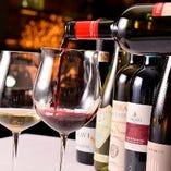 お料理とワインのマリアージュを堪能