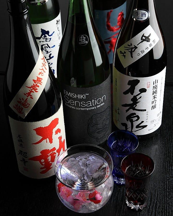 当店自慢の日本酒