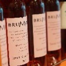 ◆常備約30種類以上のワインを愉しむ