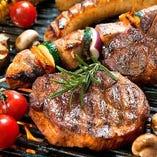 肉バルで!手ぶらで本格BBQ食べ放題2,500円~♪【ブラジル】