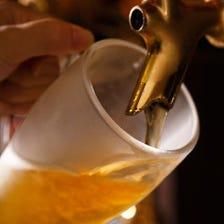 飲み放題有★海外ビールは60種以上!!