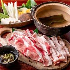 こんな美味しいアグー豚はじめてー!沖縄には貴重な黒豚がいます!!『絶品しゃぶしゃぶ鍋セット』