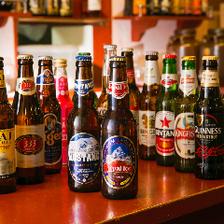 18種類以上の海外厳選ビールで乾杯