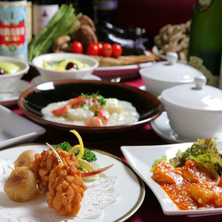 個室・座敷で味わう正当派中華料理