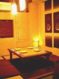 掘りごたつ席(1室) 2~6名様 隠れ家の雰囲気ナンバーワン