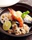 魚と野菜の盛り合わせ1400円