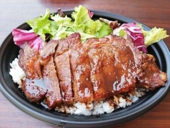 リブロースステーキ丼