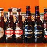 スペインビールも多数ご用意しています