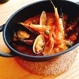 南スペイン、アンダルシア名物! 魚介のカルドソ
