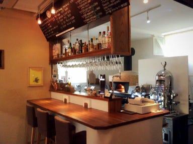 カフェピッツェリアデルソーレ  店内の画像