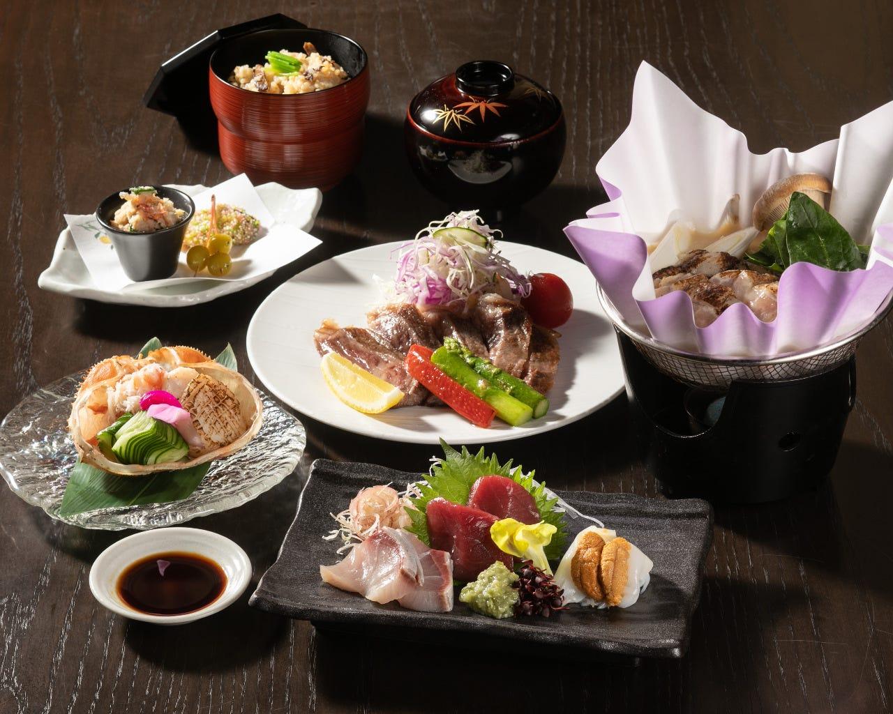 忘新年会にも。和食・お酒好きの方の接待にも最適です。