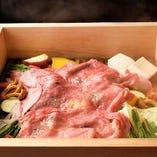 源氏和牛と季節のお野菜セット