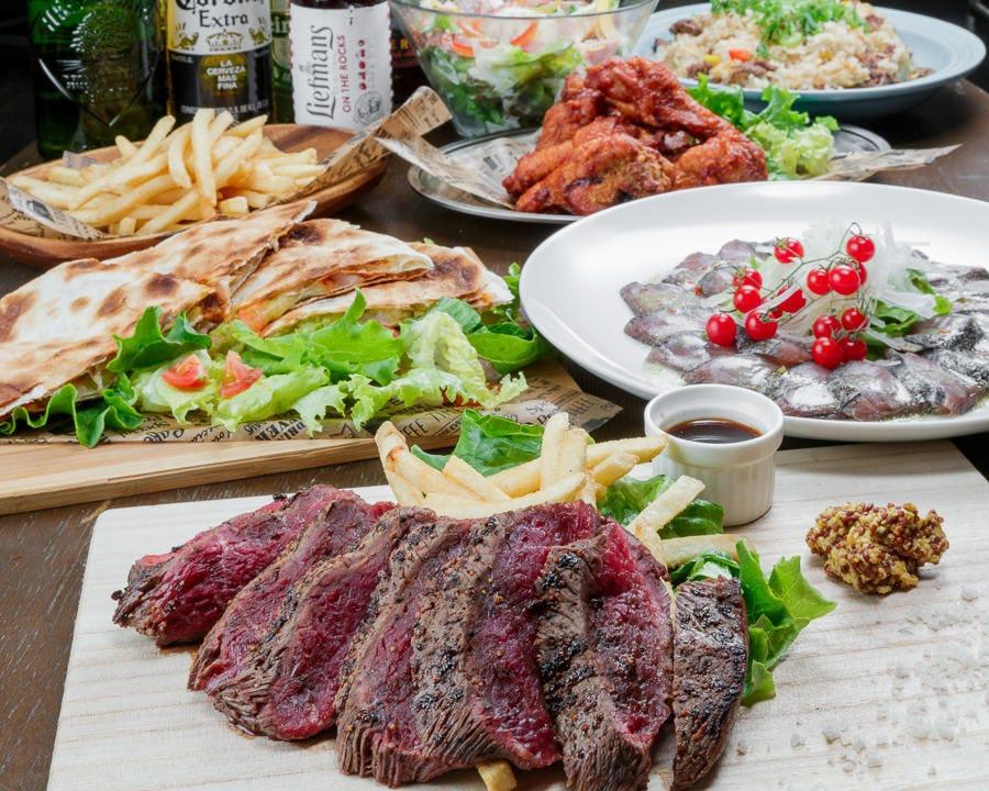 全8品★国産ステーキコース