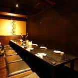<大人のお忍び個室空間>落ち着きのある個室は2~50名様までご利用可能です。