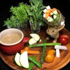 近江野菜スティック盛り合わせ バーニャカウダソース