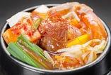 海鮮と豆腐の辛口チゲ