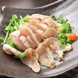 桜姫鶏のたたき