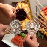 当店自慢のお酒と料理のペアリングをお楽しみください
