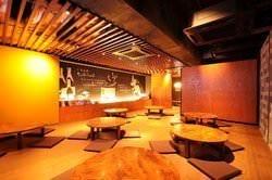 食べ飲み放題 居酒屋 六角酒場ちゃぶちゃぶ 店内の画像