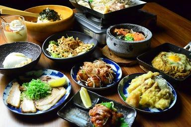 食べ飲み放題 居酒屋 六角酒場ちゃぶちゃぶ コースの画像