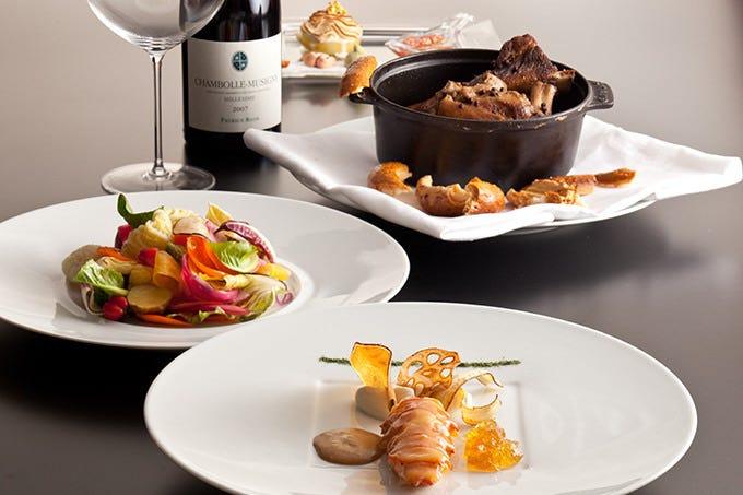 美しい正統派フランス料理