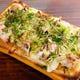 新名物の【やきとりpizza】 やきとりタレのソースが最高!