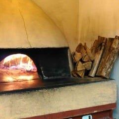 石窯キッチン 薪火