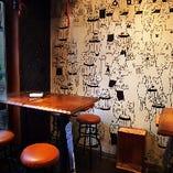 デザイナー仕掛けの壁アート