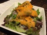鶏ササミとキャロットラペのサラダ