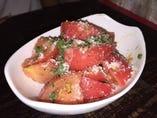 アンチョビ冷やしトマト