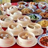 重慶飯店グループ唯一の食べ放題プランをご用意!