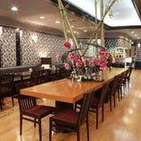 山下交番前、重慶飯店第一売店2階【重慶飯店 飲茶専門店 重慶茶樓】レストラン席