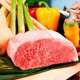 松阪牛、神戸牛などの高級肉をご用意しております。